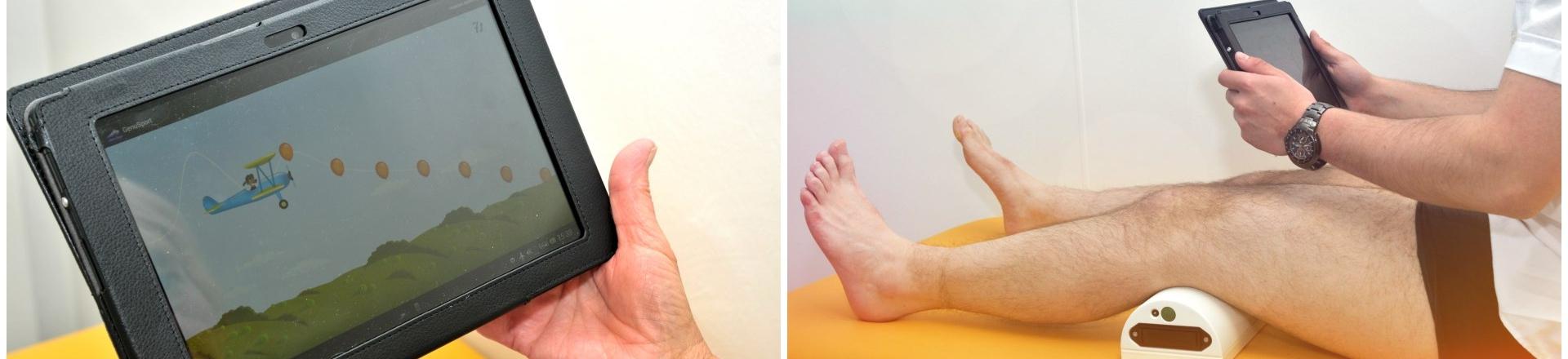 GenuSport - Der App-basierte Knietrainer für das postoperative Training nach einer Knieoperation