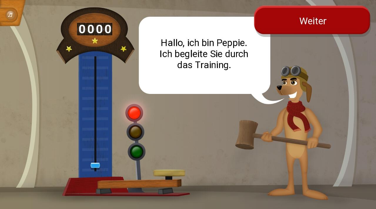GenuSport App-Spiel-Hau den Lukas